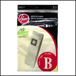 Hoover Type B Allergen Vacuum Cleaner Bags - 3 pack
