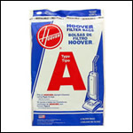 Hoover Type A Vacuum Cleaner Bags - 3 pack