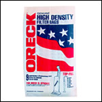 Oreck 80009 Vacuum Bags without Docking System