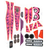 Power Wheels BCK89 Girls Dune Racer Decal Sheet BCK89-0311