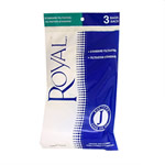 Royal 040447 Type J Vacuum Bags - 3 Pack